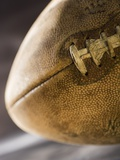 Still life of a football