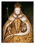 Queen Elizabeth I in Coronation Robes