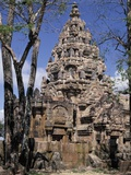 Ruins of Prasat Phanom Rung in Thailand