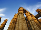 Columns at Sunset, Luxor Temple