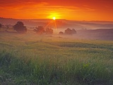 Farmland at Sunrise