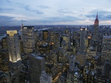 Midtown Manhattan Sparkles at Dusk