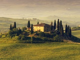 Tuscan Villa at Sunrise
