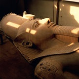 Colossus of Ramses II at Memphis Museum