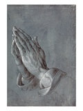 Praying Hands Giclee Print