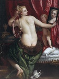 Venus with a Mirror (Venus at Her Toilette) by Paolo Veronese