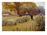 A Walk in the Garden Giclee Print