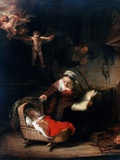 Holy Family by Rembrandt van Rijn