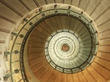 Spiral Staircase at Eckmuhl Lighthouse in Brittany
