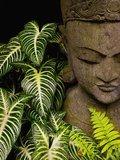 Buy Statue in a Garden Location Information: Chiang Mai, Thailand at AllPosters.com