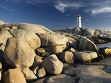 Peggy's Cove Lighthouse Nova Scotia, Canada.