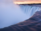 Horseshoe Falls at Sunset from Table Rock Viewpoint, Niagara Falls, Ontario