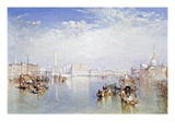 Buy View of Venice: The Ducal Palace, Dogana and Part of San Giorgio at AllPosters.com