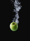 Green Apple in Water