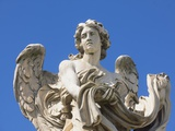 Angel statue on Sant'Angelo Bridge