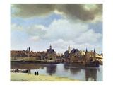 View of Delft Giclee Print