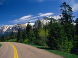 Road Through Glacier National Park