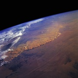 Dust Storm in the Sahara Desert