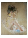 Girl with Naked Shoulders Giclee Print