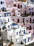 Hillside Buildings on Santorini