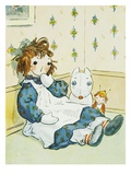 Book Illustration of a Raggedy Ann Doll by Johnny Gruelle