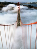 Golden Gate Bridge Wrapped in Fog