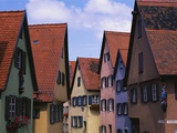 Row Houses in Dinkelsbuhl