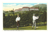 Golf near Grove Park Inn, Asheville, North Carolina