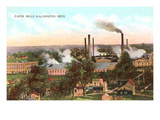 Paper Mills, Kalamazoo, Michigan