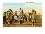 Osage Indian Dancers