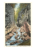 The Flume, Franconia Notch, New Hampshire