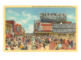 Boardwalk, Steel Pier, Atlantic City, New Jersey