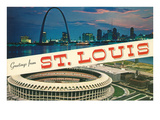 Greetings from St. Louis, Stadium, Arch