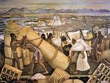 Tenochtitlan (Mexico City) Art Print
