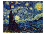 Van Gogh: Starry Night Art Print
