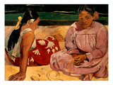 Gauguin: Tahiti Women, 1891