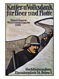 WWI: German Poster, 1917