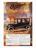 Automobile Ad, 1920