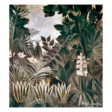 Rousseau: Jungle, 1909