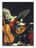 Buy St. Cecilia And The Angel at AllPosters.com