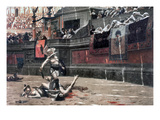 Gerome: Gladiators, 1874 Art Print