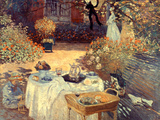 Monet: Luncheon, C1873