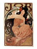 Buy Mucha: Cigarette Paper Ad at AllPosters.com