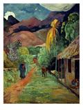 Gauguin: Tahiti, 19Th C Art Print