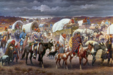 The Trail Of Tears, 1838 Art Print