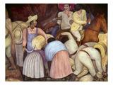 Rivera: Mural, 1920S