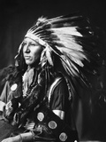 Sioux Native American, C1898 Photographic Print