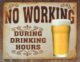 No Working