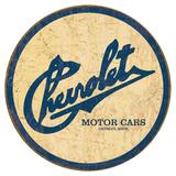 Chevy Historic Logo Blechschild