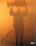 Mark Messier Oilers Retirement Night w/ Stanley Cup Autographed Photo (Hand Signed Collectable)